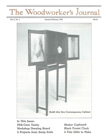 Woodworker's Journal – January/February 1981
