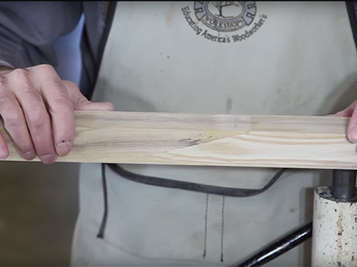 How to Make a Scarf Joint