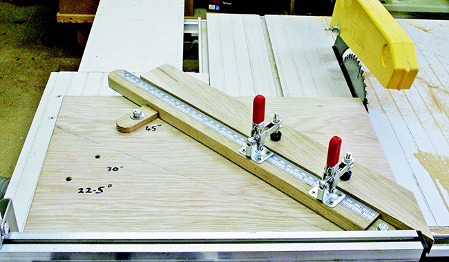 Making a Miter Cutting Sled