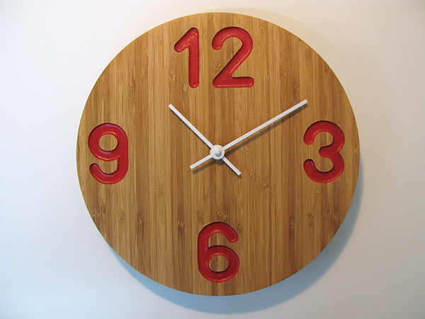 PROJECT: Modern Clock with Large Numbers