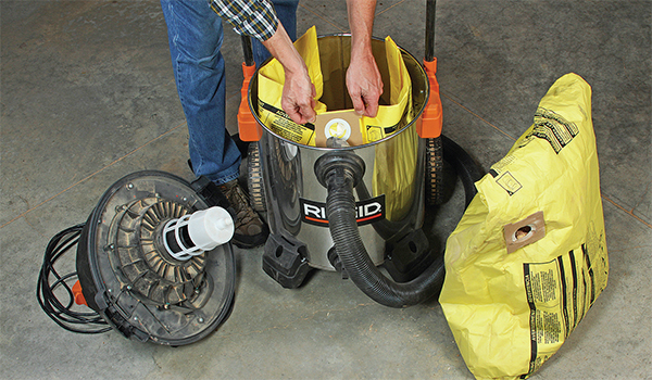 Make Cleaning a Shop Vac Easier