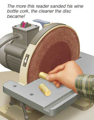 Wine Cork Cleans Abrasives