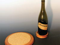 Trivet and Wine Caddy woodturning projects