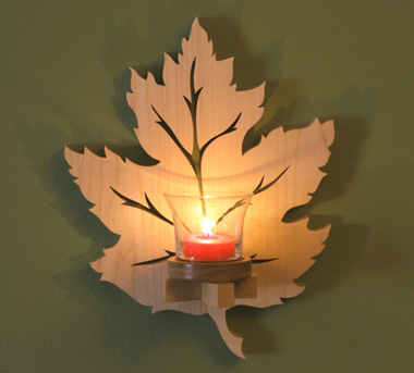 Leaf Sconce Project